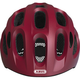 ABUS Youn-I Helmet Barn cherry red